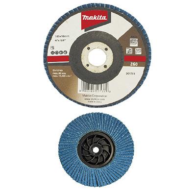 """Makita 4""""/100MM Flap Disc Economy Angled (Zirconia Aluminium)"""