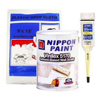 Nippon Paint Vinilex 5170 Solvent-Based Wall Sealer 1 Litre Package
