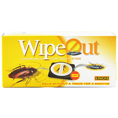 Wipeout C-CB101 Cockroach Killer 6's