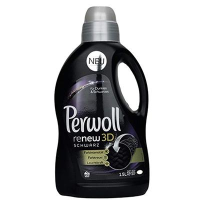 Perwoll C-GM502D Renew Black 3D Liquid Black and Dark Color Laundry Detergent 1.5L