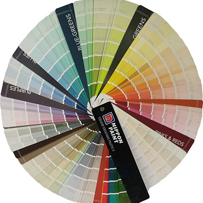 Nippon Paint Fan Deck Colour Creation Palette II