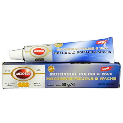 Autosol Motorbike Polish & Wax 50g Tube