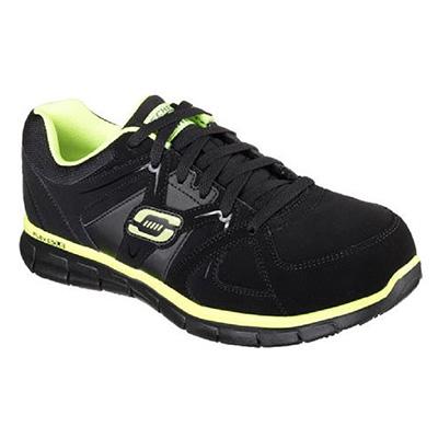 Skechers Work 77068W BKLM Synergy Ekron Steel Toe Safety Shoe