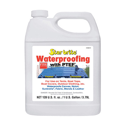 Starbrite Boat Cover Waterproofing 1 Gallon (Safe For All Fabrics)