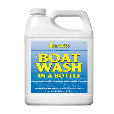 Starbrite Boat Wash In A Bottle 1 Gallon