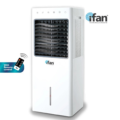 IFan Air Cooler 80W With 18L Water Tank