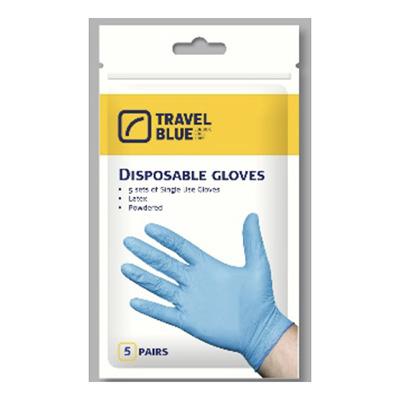 Travel Blue Disposable Gloves
