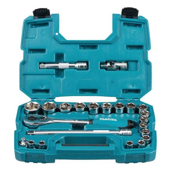 Makita B-65589 23PC 1/2 DR Socket Wrench Set