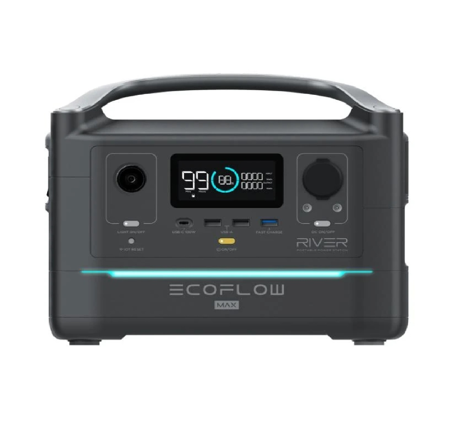 Ecoflow RIVER 600MAX Portable Power Station (Perfect Generator Up To 1800W)