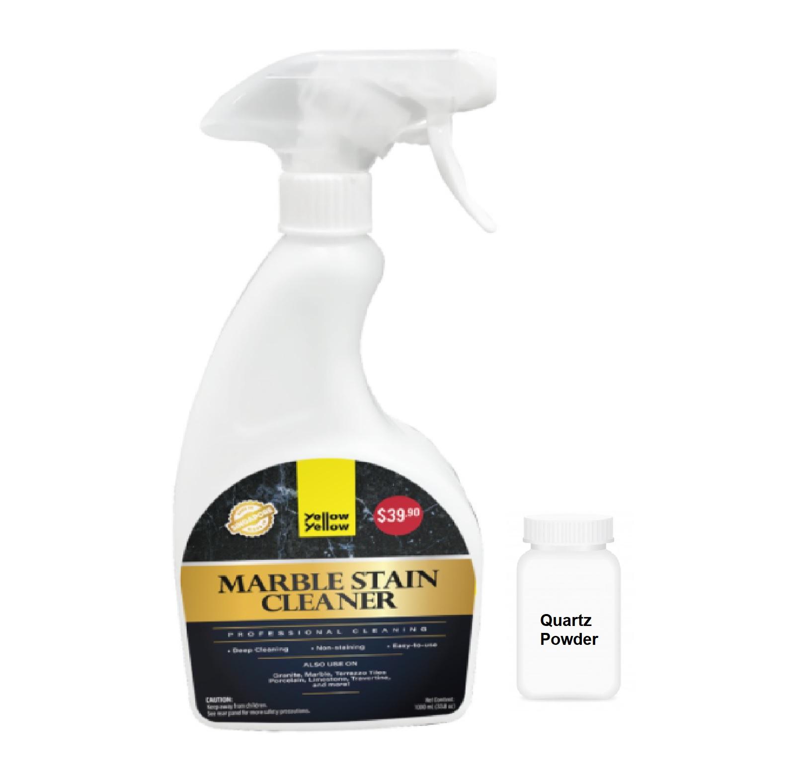 Yellowyellow Heavy Duty Marble Cleaner With Quartz Powder 1L