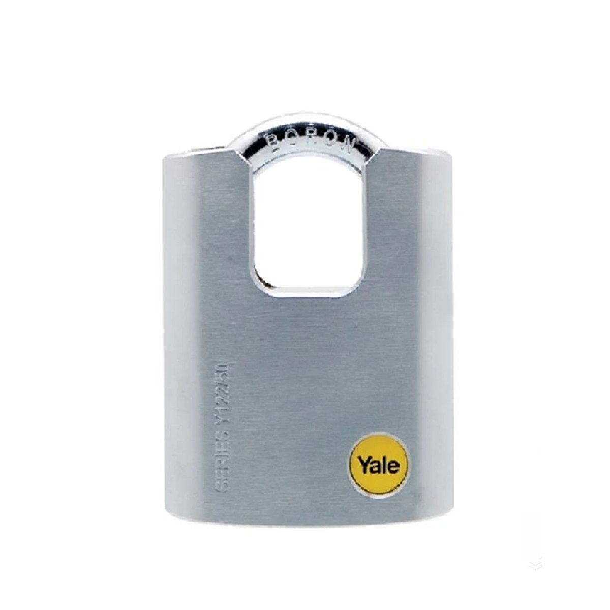 Yale Y122/50/123/1 VP 50MM Closed Shackle Padlock Comes With 3 Keys