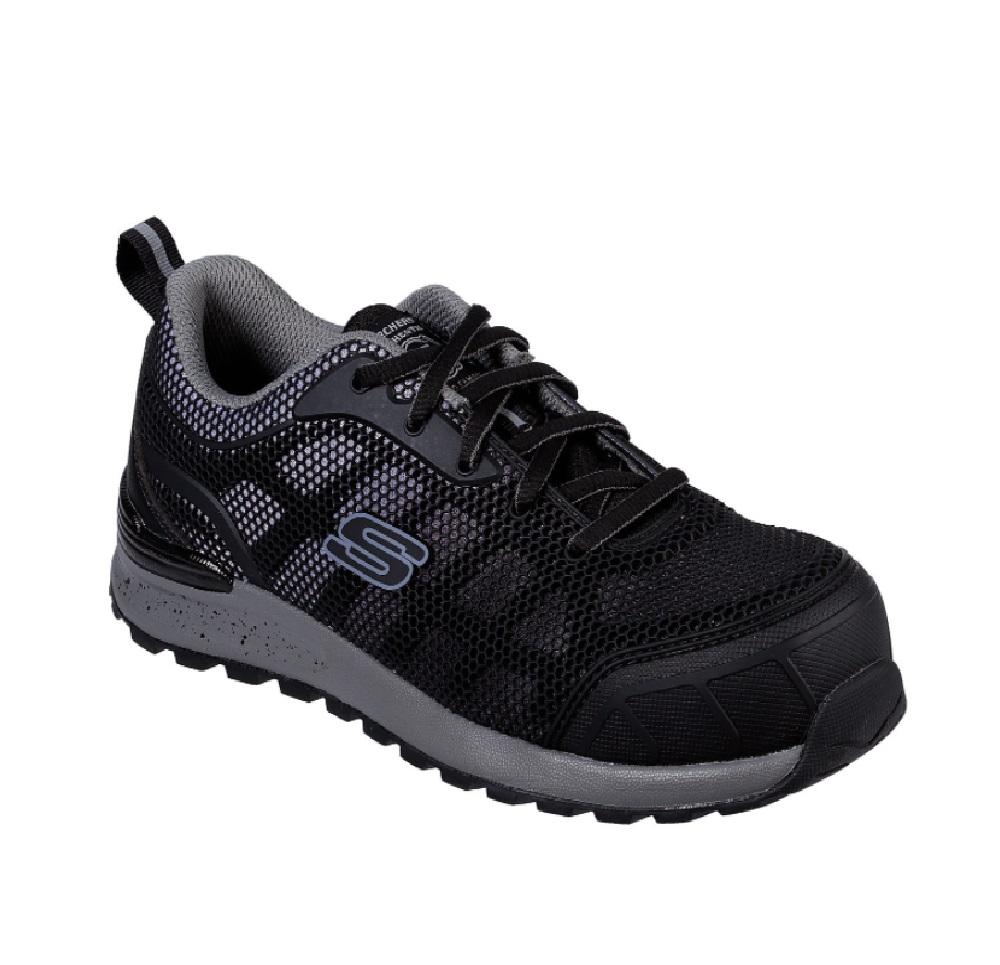 Skechers 77273 Women Work Bulkin Lyndale Composite Toe Safety Shoe